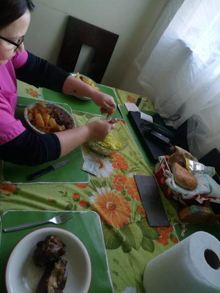 El día a día a veces es un caos ella y su comida siempre tranquilizan.