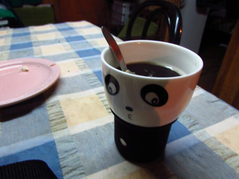 El café en la mañana es obligatorio, para aguantar los recorridos.