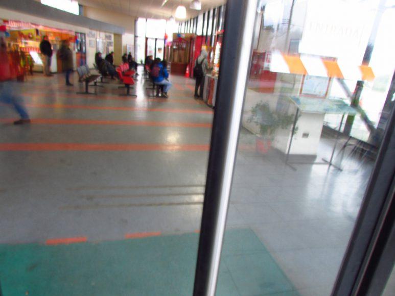 No hay nada mas placentero que entrar a un terminal temperado, después de caminar por el frio.