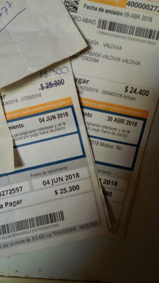 Cuentas, cuentas y más cuentas que pagar mes a mes.