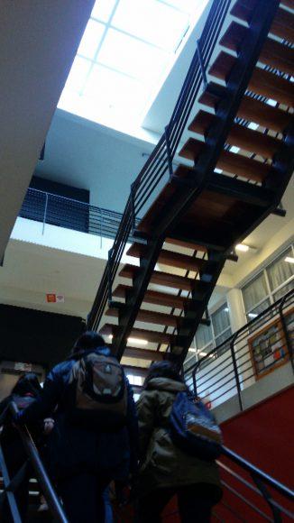¡Escaleras!