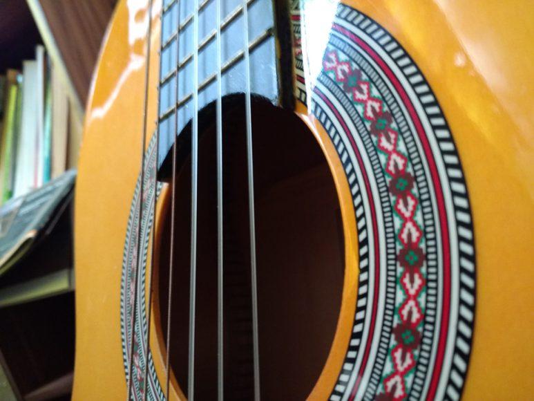 Tengo guitarra desde los 15 y nunca he podido tocar una canción entera.