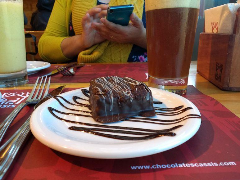 Definitivamente este brownie es mejor que un selladito, a veces uno se puede dar ciertos lujos.