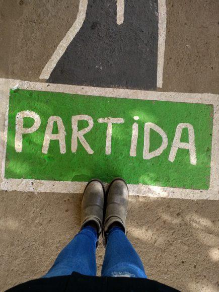 Siempre hay una nueva partida en la vida y hay que estar listos para correrla, caminarla, disfrutarla, ¡vivirla!