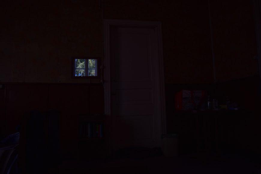Después me siento a esperar a que se oscurezca por completo para irme a dormir, o no.