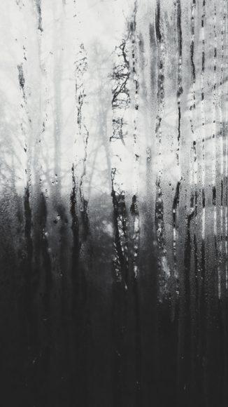 La ventana de un día lluvioso.
